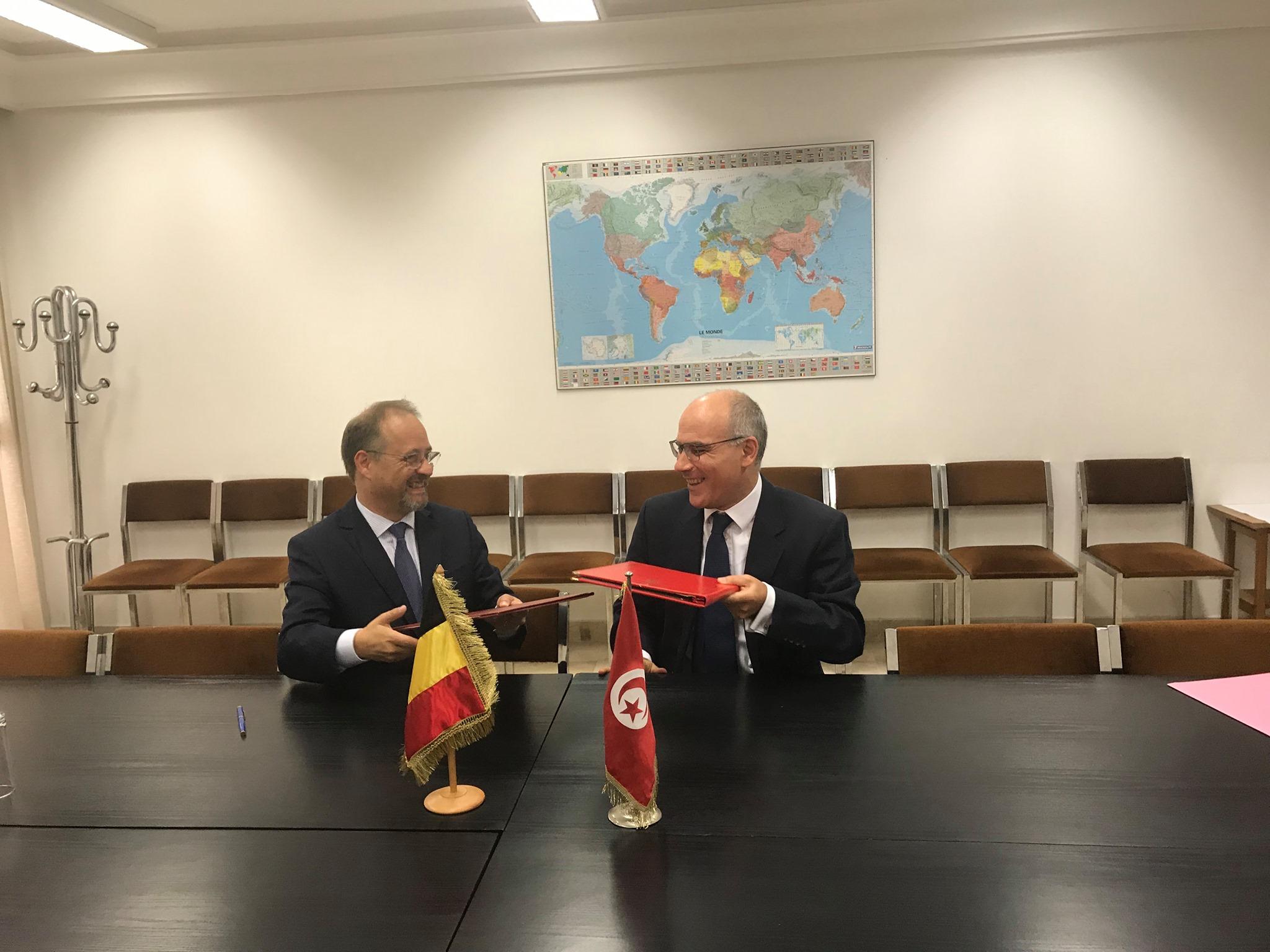 بلجيكا تُحوّل جزءا من ديون تونس إلى مشاريع
