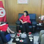 بعد سفير فرنسا: عبير موسي تلتقي المستشارة السياسية بسفارة أمريكا