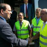 تونس تتسلم الدفعة الأولى من القطارات الكهربائية الجديدة (صور)