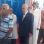 بعد الناصر ومورو: الغنوشي في طابور الناخبين ينتظر دوره ( فيديو)