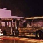 جربة : مجهولون يحرقون حافلتين وتسجيل أضرار مادية فادحة