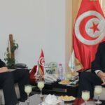 رئيس اتحاد الفلاحين يلتقي قيس سعيّد