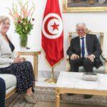 مرجان يلتقي سفيرة بريطانيا بتونس