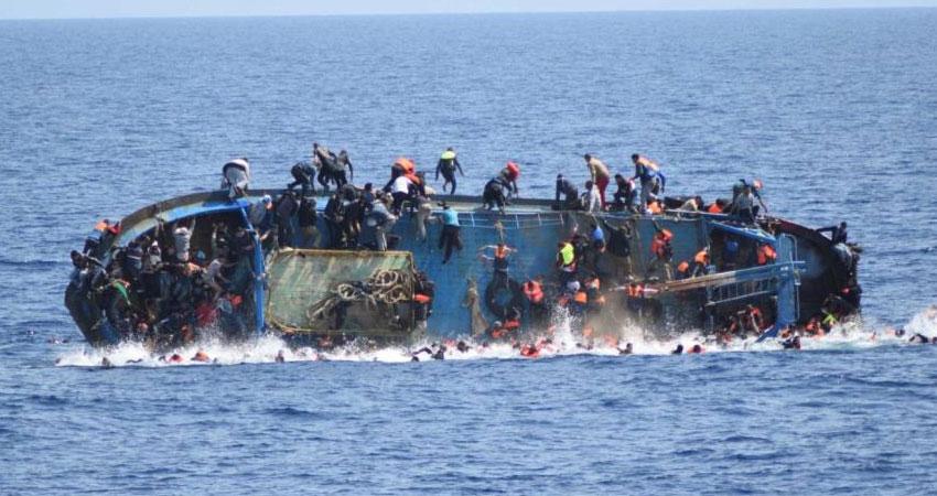 قبالة السواحل الليبية: غرق قارب يحمل نحو 50 حارقا