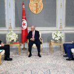 العباسي إثر لقائه برئيس الجمهورية: نأمل أن تخرج تونس من القائمة السوداء في أكتوبر