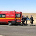 رمادة: اٍصابة 8 ليبيين في اصطدام سيّارتين