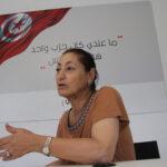 زوجة الزبيدي: لن ألعب أي دور سياسي ..وهناك انحطاط كبير في الحملات الانتخابية