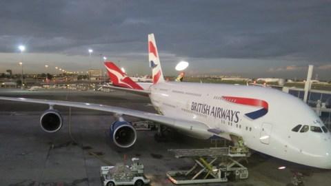 أكبر طائرة في العالم تحط لأول مرة بمطار النفيضة الدولي