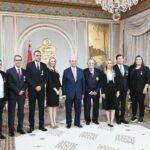 منهم وديع الجريء : رئيس الجمهورية يوسّم عددا من المُسيّرين الرياضيين