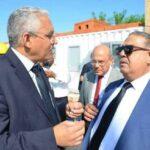 وزير التجهيز و الإسكان و التهيئة الترابية يُعاين الأشغال في ملعب سوسة