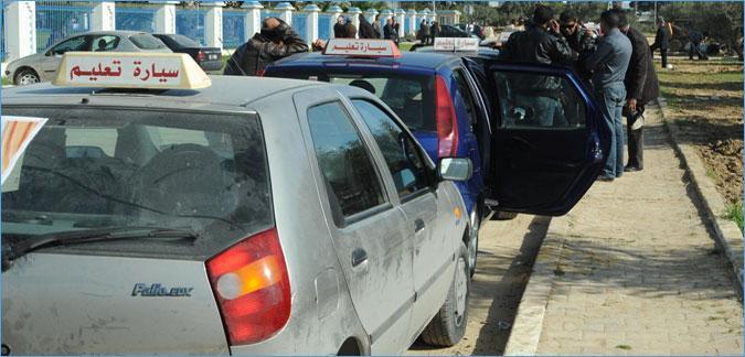 وكالة النقل البري: لا صحة لتجهيز سيارات تعليم السياقة بكاميرات مراقبة