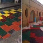 وزارة الثقافة: تلوين المعالم الأثرية تعد صارخ على التراث الوطني