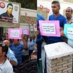 توزر : أمنيون يحتجون أمام مراكز الاقتراع