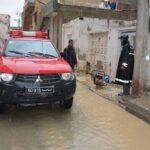 صباح اليوم: تواصل شفط المياه بأحياء في أريانة وقابس وتطاوين