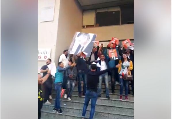 فيديو :  أنصار نبيل القروي يحتفلون بالإفراج عنه