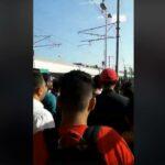 رادس: مُحتجّون يحتجزون قطارا ويعتدون على سائقه