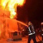 القلعة الكبرى: خسائر مادية نتيجة حريق بمنزل