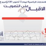 مراقبون: نسبة المشاركة إلى حدود الساعة 11 صباحا بلغت 19%