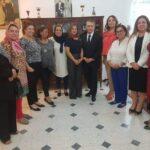 نبيل القروي يلتقي رئيسة الاتحاد الوطني للمرأة