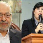 راشد الغنوشي والصافي سعيد وعبير موسي وسامية عبو في البرلمان