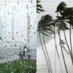 الرصد الجوي يُحذّر من أمطار غزيرة ورياح قوية الليلة وغدا