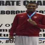 ثامر سليماني يفوز ببطولة العالم في الكاراتي