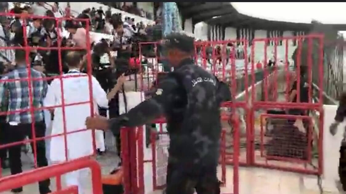 الداخلية: استعمال الغاز بملعب الطيب المهيري بصفاقس مُبرر