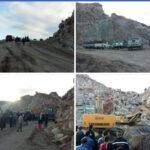 النفيضة : انهيار مقطع للحجارة وفقدان 3 عمّال تحت الأنقاض