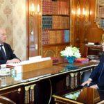 وزير الخارجية بالنيابة يُقدم لسعيد أبرز المواعيد الدبلوماسية