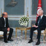 قيس سعيد يستقبل رئيس المجلس الأعلى للقضاء