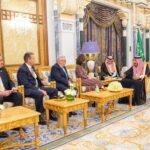 ملك السعودية يستقبل مديرة وكالة المخابرات الأمريكية CIA
