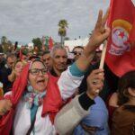 الحامة : النقابيون يحتجون على سجن كاتب عام اتحاد الشغل ويتوعدون