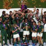 جنوب افريقيا تتوّج بكأس العالم للرقبي