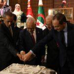 الغنوشي يقود وفد تونس المُشارك في موكب إحياء ذكرى ثورة الجزائر (صور)