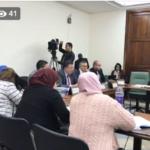 اللومي يدعو أعضاء لجنة المالية الوقتية للابتعاد عن التجاذبات السياسية