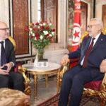 الغنوشي لسفير ايطاليا: يجب تشريك تونس في مؤتمر برلين