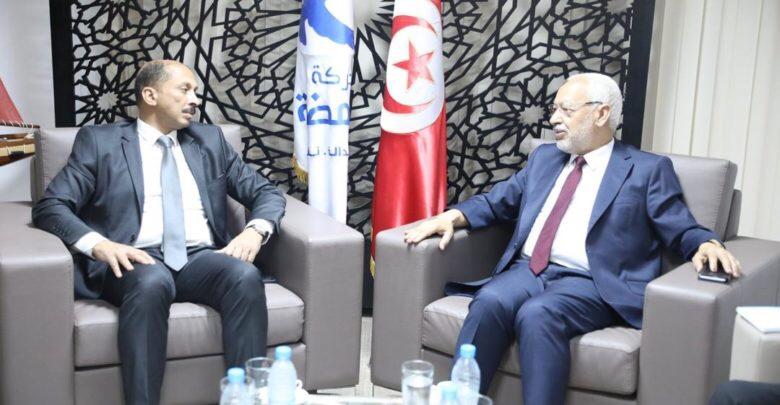 النهضة وصفته بالايجابي: ثاني لقاء بين الغنوشي ومحمد عبو