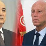 قيس سعيد يهنئ رئيس الجزائر الجديد
