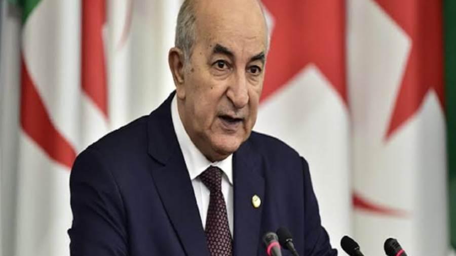 رئيس الجزائر الجديد يؤكد التزامه بالتغيير