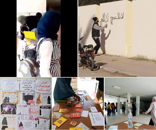 اتحاد طلبة تونس :حالة وعي داعشية بالجامعات وعودة الخيام الدعوية (فيديو/صور)