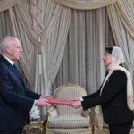 سعيّد يُسلّم أوراق اعتماد يسرى سويدان سفيرة لتونس في تشيكيا