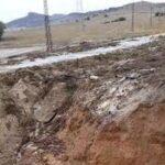 جندوبة : انزلاق أرضي يمنع 150 تلميذا من الدراسة