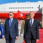 وفد عسكري استخباراتي يرافق أردوغان إلى تونس