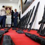الداخلية: الأسلحة المحجوزة ببني خداش تُركية الصنع قادمة من ليبيا