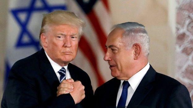 """ترامب يعلن عن """"صفقة القرن"""": تكريس حلّ الدولتين شريطة الإعتراف بإسرائيل كدولة يهودية"""