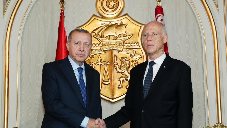 النيفر: أردوغان طلب من سعيّد السماح باستعمال المجال التونسي جوا وبحرا