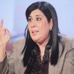 عبير موسي باكية: تونس في خطر كبير فلا تخذلوها مثلما صار بعد شكري بلعيد