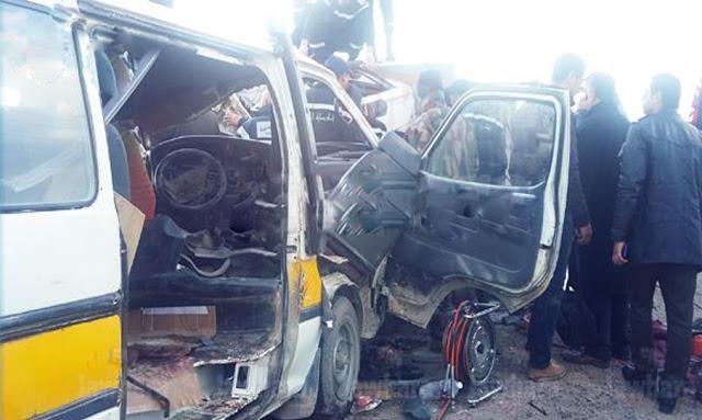 قرمبالية: 14 جريحا في حادث مرور