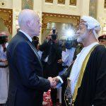 في سلطنة عمان: سعيّد يُقدم واجب العزاء في وفاة السلطان قابوس