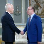 الياس الفخفاخ ثالث مُرشح لرئاسة الحكومة يستقبله سعيد